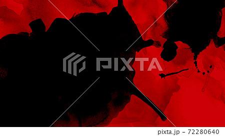 赤と黒のショッキングなイメージの素材 - 複数のバリエーションがあります 72280640