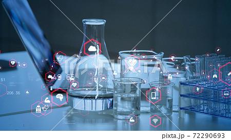 科学技術 メディカルテクノロジー 製薬業 72290693