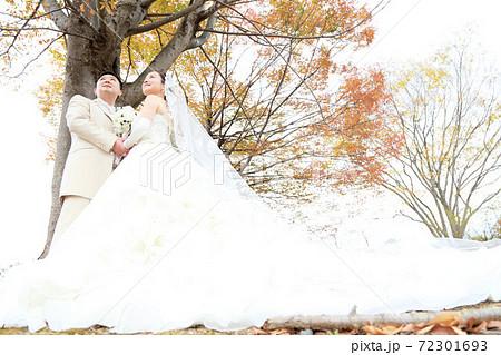 写真だけの結婚式ウエディングフォト☆新郎新婦 72301693