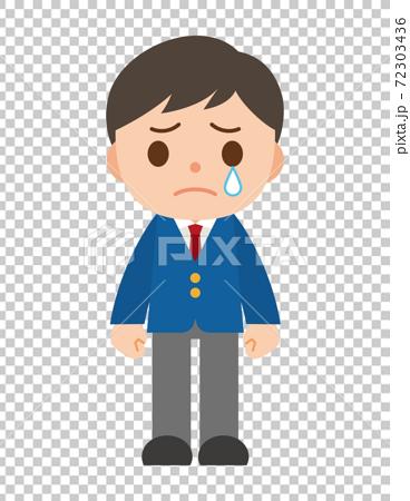 哭泣的男生西裝外套 72303436