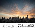 東京・新宿・朝 72311032