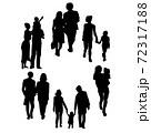 多種多様な生活様式のイメージカット 72317188