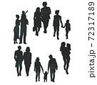 多種多様な生活様式のイメージカット 72317189