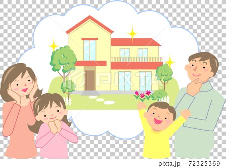 選擇自己的家的微笑家庭 72325369