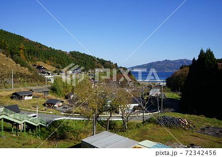 三陸鉄道リアス線 恋し浜駅前の風景 72342456