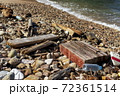 海岸のゴミ 72361514