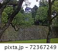 2014年の熊本城(平櫓付近から見た天守) 72367249