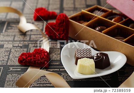 バレンタイン・チョコレート 72389359