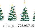 クリスマスの準備をする妖精のイラスト 72393715