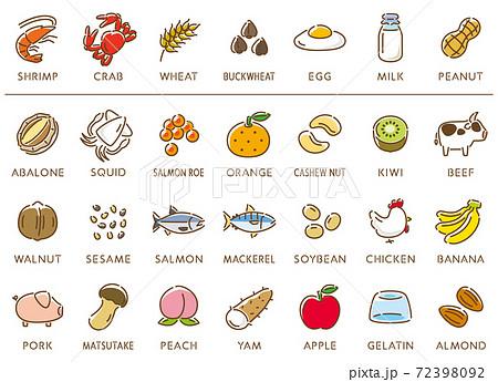 物質 28 品目 アレルギー アレルギーは英語で何と言う?アレルゲンの特定原材料28品目まとめ