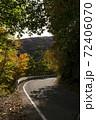 秋の山道 72406070