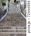 【広島県】尾道の千光寺に登る坂道の石段 72444894