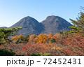 伊香保ロープウェイ山頂 上ノ山公園から見た二ツ岳 72452431