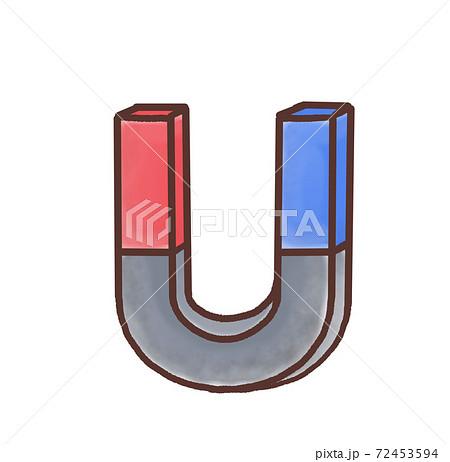 R:もっとメルヘンな理科室 U字磁石 赤青A 72453594