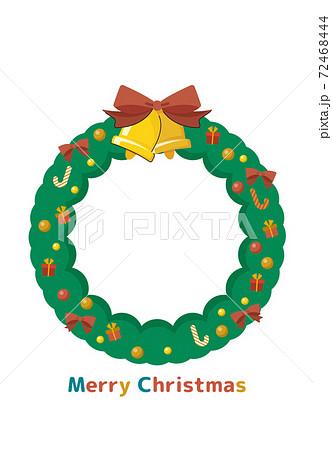 クリスマスリース 72468444
