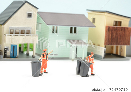 ゴミ収集 72470719