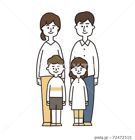 4人家族 蜜 集合(カジュアル) 72472515