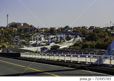 水玉ブリッジラインと玉島乙島 岡山県倉敷市 72495765