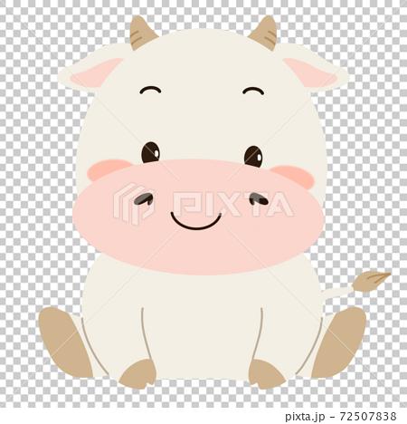 牛字符小牛動物 72507838