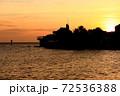 カリブ海に浮かぶキュラソー島 72536388