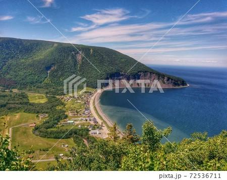 夏のカナダ・ケベック州・ガスペジ半島 72536711