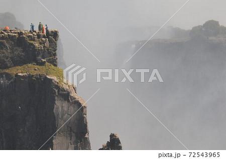 世界三大瀑布ビクトリアの滝、デンジャーポイント 72543965