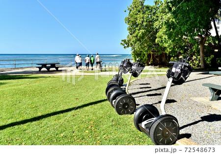 ハワイの休日 72548673