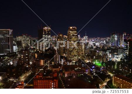 東京タワーから見た虎ノ門方面の夜景 72557553