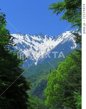 駒ケ根駒ヶ岳公園線から望む宝剣岳 72574974