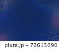 星屑とにじみの背景 青色 72613690