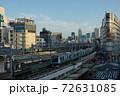上野公園から見下ろす京浜東北線 上野駅 72631085