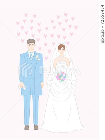 結婚式ウェディングドレス1 72652434