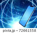 ネットワーク ITイメージ素材 72661558