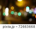 (都心の風景)夜の街 72663668