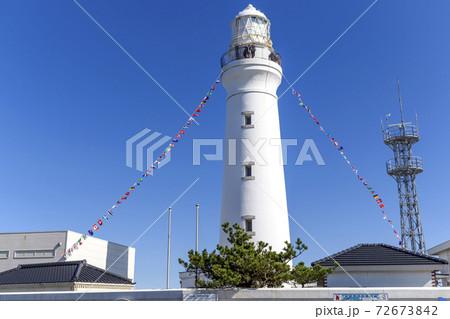 銚子の灯台 万国旗 海と灯台ウィーク 72673842
