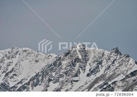 《鳥取県》鍵掛峠展望台から眺める大山 72696004