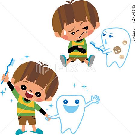 虫歯と子ども 72704145