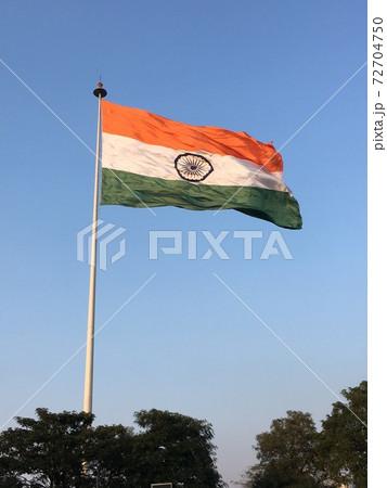インド国旗 72704750