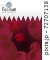 Abstract football graphic template with Qatar flag pattern BG 72707138