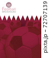 Abstract football graphic template with Qatar flag pattern BG 72707139