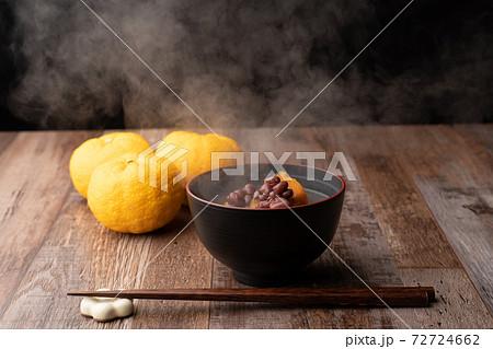 お汁粉、冬至かぼちゃ 72724662