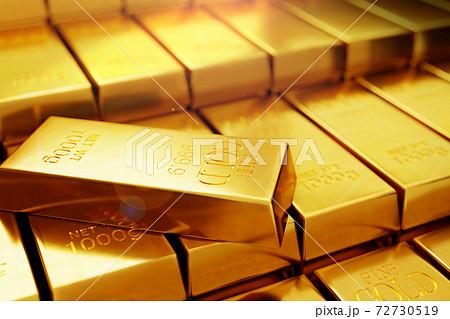 背景 黄金 金の 72730519