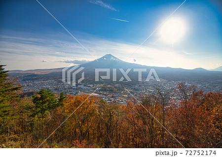 富士山パノラマロープウェイからの富士山 72752174