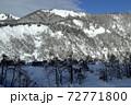冬晴れの爼倉山 福島県只見町 72771800