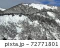 冬晴れの爼倉山 福島県只見町 72771801