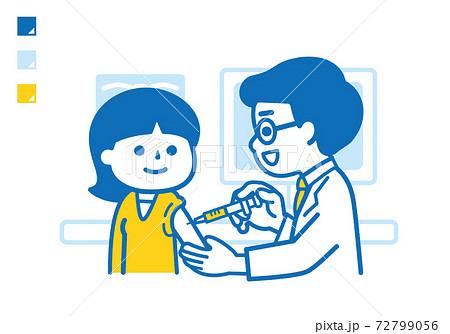 ワクチン摂取 72799056