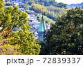 木々の間に聳える天主堂の塔 72839337