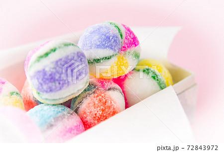 手毬モチーフの飴 飴 鞠 和菓子 72843972