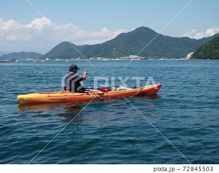 淡島の周りでカヤックフィッシング 72845503