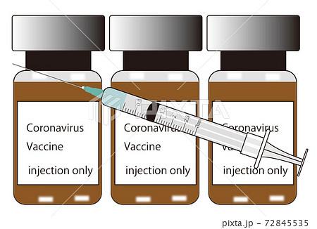 ワクチン摂取 72845535